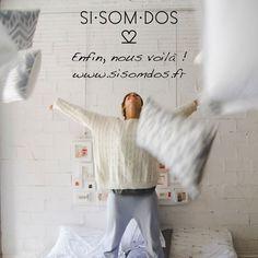 Ça y est, notre site français est maintenant prêt ! www.sisomdos.fr/?utm_content=buffer21f2a&utm_medium=social&utm_source=pinterest.com&utm_campaign=buffer Vous pouvez tous profiter désormais de la super qualité des produits SISOMDOS ! N'hésitez pas à partager la bonne nouvelle !