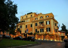 Rome - Hotel San Anselmo. Hope to stay in Room 33 again one day.