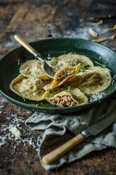 Italian Pulled Pork Ravioli | Chew Town Food Blog