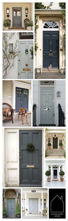 painted front doors
