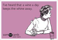Wine a Day! #winehumor