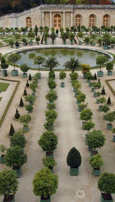 J'aime la description de L'Orangerie du Château de Versailles. L'Orangerie est le place qui raconte l'histoire.