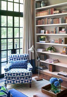 70 Trendy Home Decored Living Room Cozy Reading Corners Living Room Nook, Cozy Living Rooms, Home And Living, Living Room Decor, Small Living, Modern Living, Home Library Design, Home Design, Design Ideas