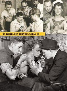 Tattoo Old School, amor eterno, amor verdadeiro
