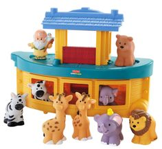 Baby Baptism Gifts / Christening Gifts:  Fisher-Price Little People Noah's Ark @ Amazon