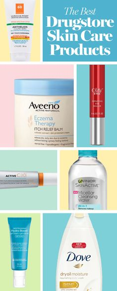 These are the most effective drugstore skin care products out there because you shouldn't have to spend a fortune to have a healthy, glowing skin.