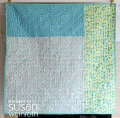 Easy pattern. Can I make something so simple look this good without a quilting specific sewing machine?
