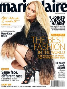 Mary-Kate Olsen - Marie Claire Magazine [South Africa] (October 2010)
