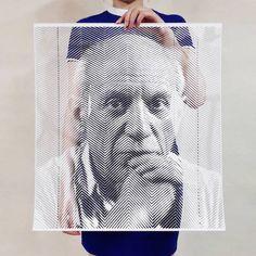 Paper Cut Portraits par Yoo Hyun - Journal du Design