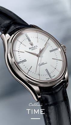 The new Rolex Cellini Time. It's my birthday soon...
