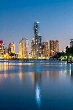 10 Stunning Images of Famous Cities Around The World (Part , Brisbane, Australia Places Around The World, The Places Youll Go, Places To See, Around The Worlds, Brisbane Australia, Australia Travel, Brisbane Queensland, Brisbane River, Brisbane Cbd