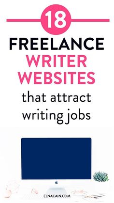 Deciding to be a brand new freelance writer? What the heck do you need to get your first freelance writing job? I suggest a writer website, or start a blog for your business. That's right! Here are 18 websites for inspiration | freelance writer for beginn #writingjobs