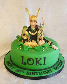 Thanos The Destroyer Cake Annacakes Com Birthday Cakes