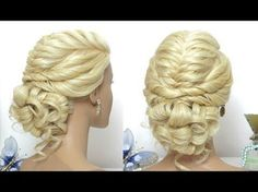 Beautiful Hairstyles for Function: Easy Wedding Updo Hairstyle - YouTube