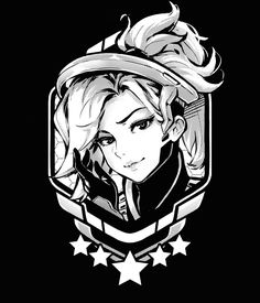 Beautiful art of Mercy Overwatch Tattoo, Overwatch Drawings, Overwatch Memes, Overwatch Fan Art, Illustration Blume, Illustration Mode, Chibi, Character Drawing, Character Design
