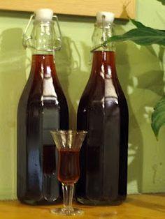 Homemade Damson Gin Liqueur