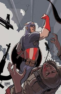 Captain America by Marc Wolfe