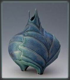 Newman Ceramic Works - 3 Leaf Vase