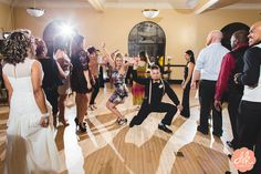 We love when guests bust a move!