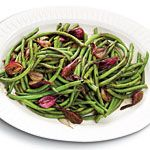 Balsamic-Glazed Green Beans and Pearl Onions Recipe - don't skip your holiday veggies!