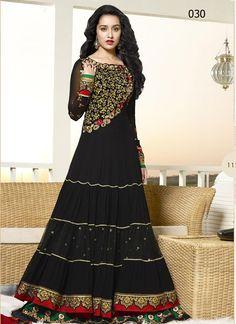 For more detail Contact us at:- Phone: +91-9574008881, +91-9574008882 Email: support@vandvshop.com https://www.vandvshop.com/new-arrivals/shraddha-kapoor-traditional-styles-long-black-designer-anarkali-suits-4593  Shraddha Kapoor Traditional Styles Long Black Designer Anarkali Suits Rs2,999  Price in reward points: 1000 DUPATTA FABRIC: Nazneen INNER FABRIC: Santoon BOTTOM FABRIC: Santoon CELEBRITY: Shraddha Kapoor STYLE: Anarkali Suit FABRIC: Georgette WORK: Embroidered COLOUR: Black