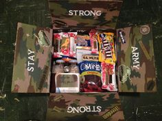 """14 Care package ideas for Army soldiers. There are some really great ideas at this link.... can't wait to send some """"themed"""" packages to my son."""