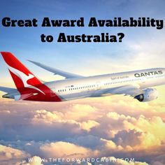 Tons of Award Availability to Australia?!