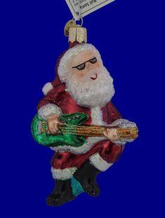 OLD WORLD CHRISTMAS NARWHAL NAUTICAL GLASS CHRISTMAS ORNAMENT 12538