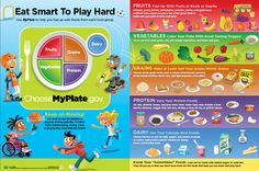 Go #back2school with #MyPlate! Get #healthy #classroom materials here!