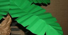 Make paper palm leaves to teach 'triumphal entry' lesson. | Bible ...