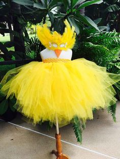 PEEP/CHICKEN Costume TUTU dress 1-5T tutu dress by SarahsMoon