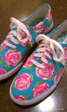 Lovely DIY painted Lilly Keds