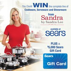 The Valpak Shop Sears with Sandra Lee Sweepstakes