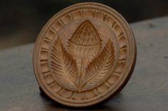 Fluted Border Series Butter Print Pineapple Design Rockford Kauffman Museum | eBay sold  278.00