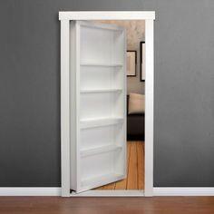 Murphy doors! Hidden doors you install yourself.