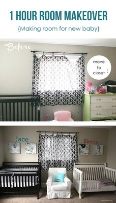 Some Cute Ideas For A Shared Newborntoddler Room Girls Room