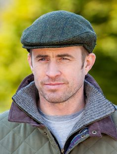 c08ce17477c Green Tweed Irish Cap for Men