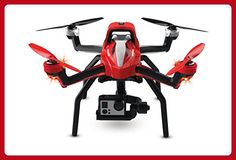 Traxxas Aton Plus Quadcopter with 2-Axis Gimbal, 3-Cell 5000mAh iD LiPo Battery and 3-amp AC LiPo Charger - Photo stuff (*Amazon Partner-Link)