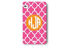 Custom iPhone Cover, Pink Clover