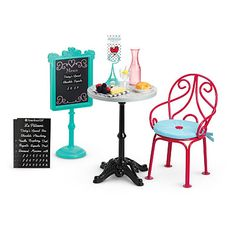 Grace table & chair- Girl of the year 2015 - American girl goty