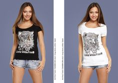#handmade #shirt #cute #tiger #girl #black #white #decor #Russia #picture #pen #ink #inkart #print #art #print #design #mypics #tatoo #style juliagrad.tumblr....