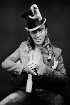 John Galiano portrait by Paolo Roversi