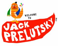 Super cute and wonderfully animated website for Jack Prelutsky - a great children's poetry author!