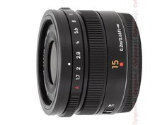 Lens Review: Panasonic Leica DG Summilux 15 mm f/1.7 ASPH [lenstip.com]