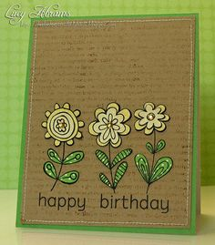 Birthday Blooms by Lucy Abrams, via Flickr