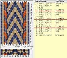 18 tarjetas, 3 colores, repite cada 4 movimientos // sed_705 diseñado en GTT༺❁