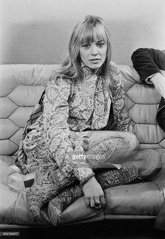 Italian-born actress and model Anita Pallenberg, UK, 31st January 1971.