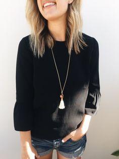 Natalie Borton Penelope Tassel Necklace