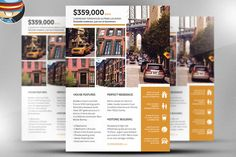 Luxury Real Estate Flyer  Ad Template Design  Stocklayouts