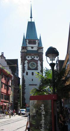 ae1946d3193 The Martinstor is one of Freiburg s original city gates